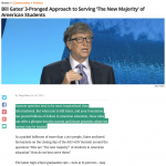 Bill Gates New Majority