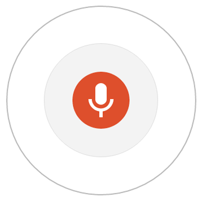 Google Microphone for Speech Recognition