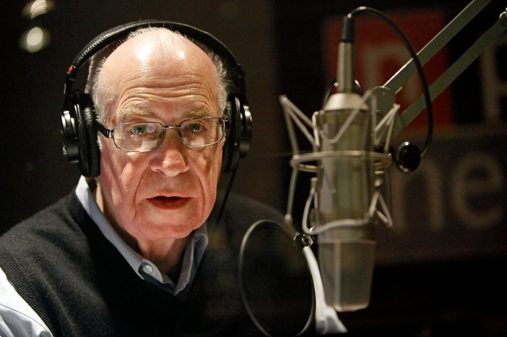 Carl Kasell on NPR