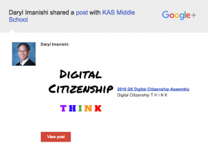 Find your community in Google+