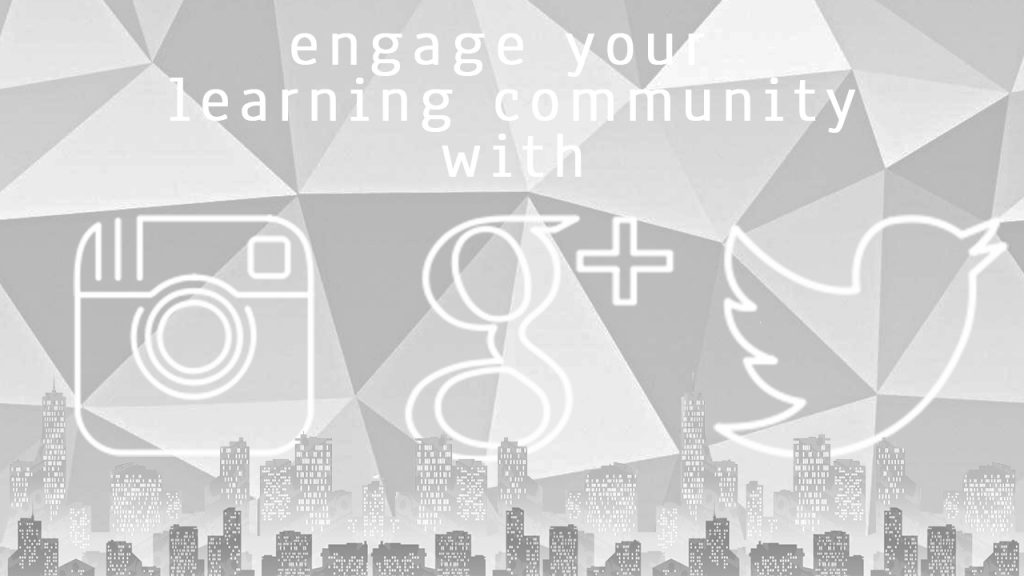 Engage your learning community with social media