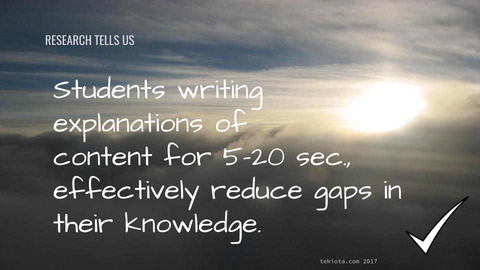 Research Based Tips for Teachers #3