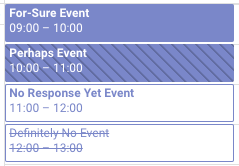 New Version of Google Calendar Events