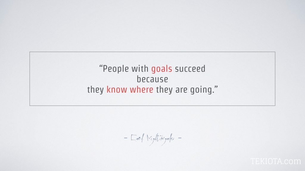 Project Management Fundamentals Goal Setting.