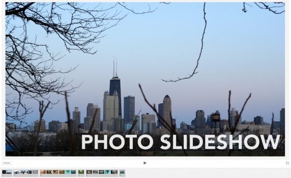 Create a Video Slideshow with Photos